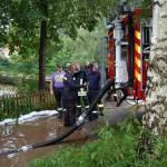 Die Feuerwehr war im Dauereinsatz.