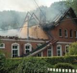 Brand auf dem Ferienhof Herdering in Metelen.